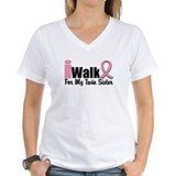 iWalk For My Twin Sister Shirt