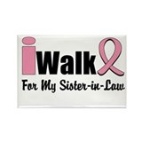 iWalk Sister-in-Law Rectangle Magnet