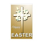 Masonic Easter Rectangle Sticker