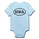 NWA Oval Onesie