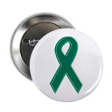 "Green Awareness Ribbon 2.25"" Button"
