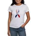 Patriotic Ribbon w/Eagle #3 Women's T-Shirt