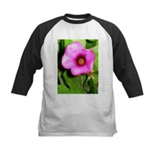 Violet Wood Sorrel Flower Tee