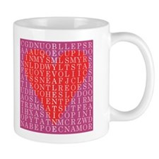 Valentine Word Search Mug