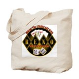 Where The Stakes Are High - R Tote Bag