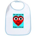 Soulful Eyes Bib