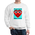 Soulful Eyes Sweatshirt