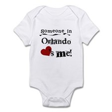 Orlando Loves Me Infant Bodysuit