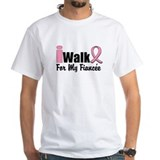 iWalk For My Fiancee Shirt
