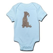 NBlu Pup Tilt Infant Bodysuit