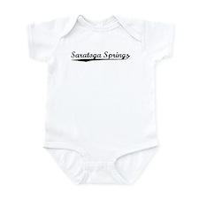 Vintage Saratoga S.. (Black) Infant Bodysuit