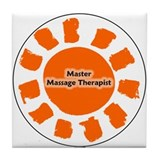 Master Massage Therapist Tile Coaster