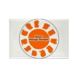 Master Massage Therapist Rectangle Magnet (100 pac