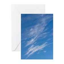 Cirrus Clouds Greeting Cards (Pk of 10)