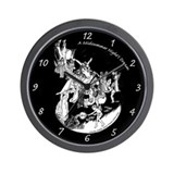 Midsummer Night's Drama Wall Clock