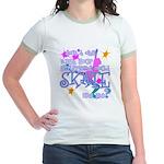 Skate Like Me Jr. Ringer T-Shirt