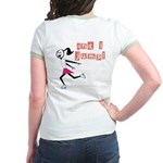 i spin, i jump Jr. Ringer T-Shirt