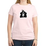 Punk Chimp Stencil T-Shirt