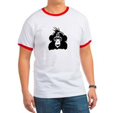 Punk Chimp Stencil T