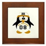 tux big brother Framed Tile
