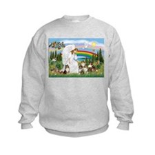 Angel & Five Shelties Sweatshirt