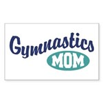 Gymnastics Mom Rectangle Sticker