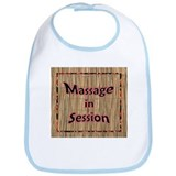 Massage in Session Bib