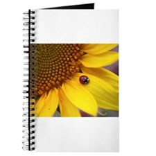 Ladybugs on Flowers Journal