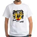 Haan Family Crest White T-Shirt