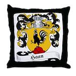 Haan Family Crest Throw Pillow