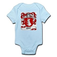 Haas Family Crest Infant Creeper