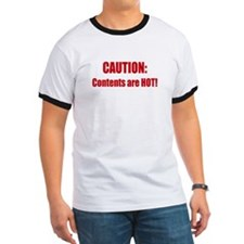 Caution: Contents HOT! T