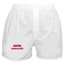 Caution: Contents HOT! Boxer Shorts