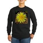 Dandelion Long Sleeve Dark T-Shirt