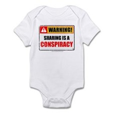Sharing Conspiracy 'Aged Print' Infant Bodysuit