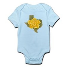 Yellow Rose of Texas Infant Bodysuit