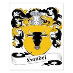 Handel Family Crest Small Poster