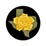 Yellow Rose of Texas 3.5&amp;quot; Button