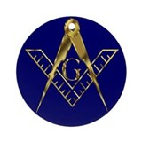 Masonic Porcelain Keepsake (Round)