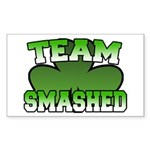 Team Smashed Rectangle Sticker