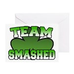 Team Smashed Greeting Card