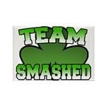 Team Smashed Rectangle Magnet (10 pack)