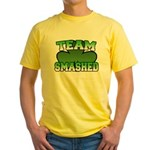 Team Smashed Yellow T-Shirt