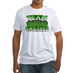 Team Smashed Fitted T-Shirt