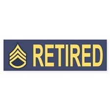 Staff Sergeant Bumper Sticker 6