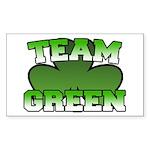 Team Green Rectangle Sticker