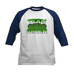 Team Green Kids Baseball Jersey
