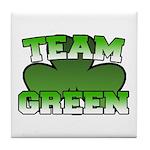 Team Green Tile Coaster