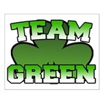 Team Green Small Poster