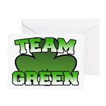 Team Green Greeting Card